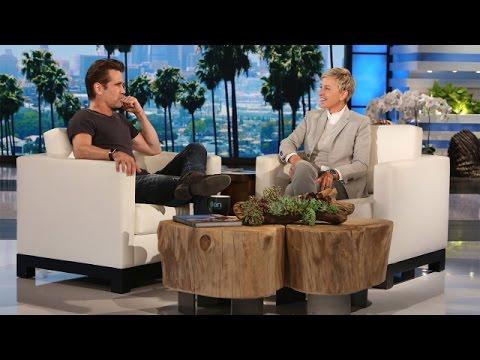 Colin Farrell's Celebrity Confession
