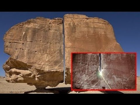 Does the Al Naslaa rock prove an extraterrestrial intervention?