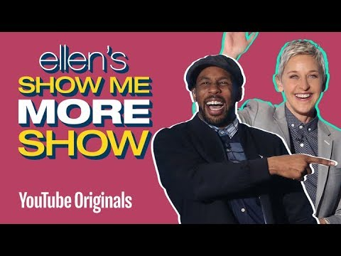 Ellen and tWitch Lip Sync and Dance to 'Shoop'