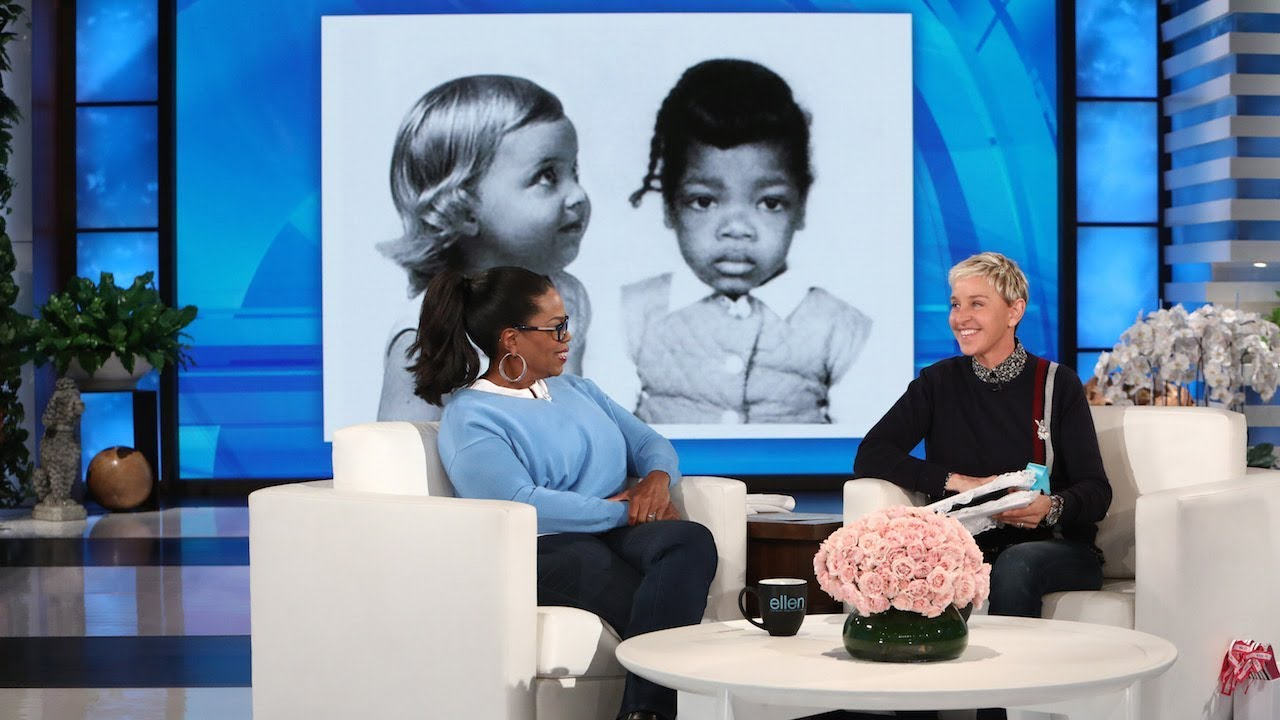 Ellen Gives Oprah a Scrapbook of Their Friendship