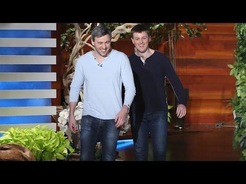 Ellen Meets Two Inspiring Blind Brothers