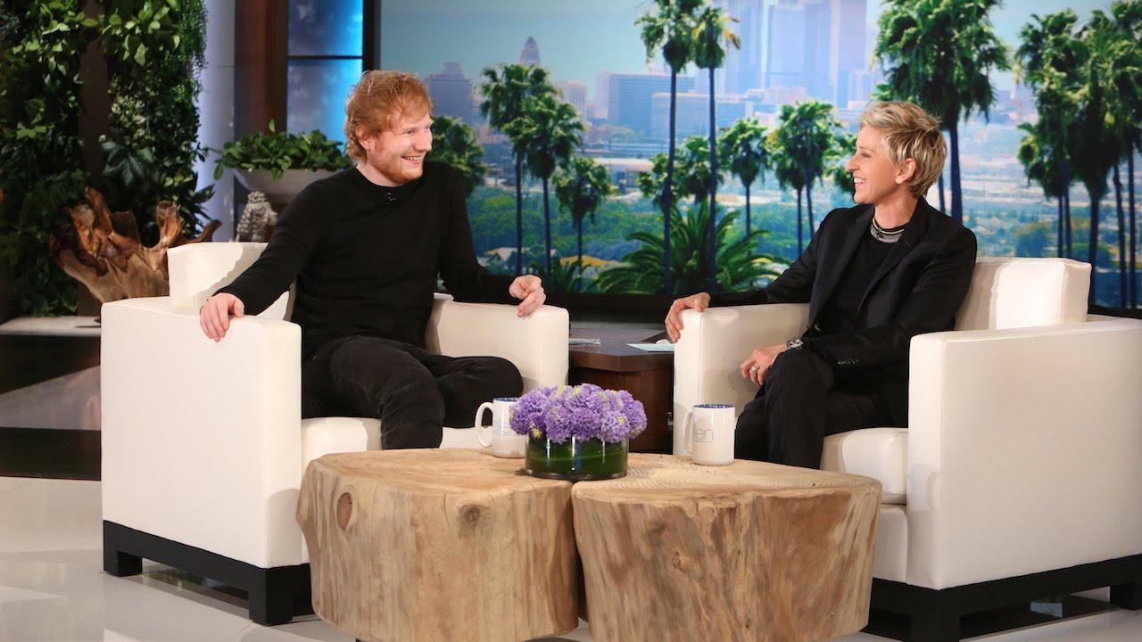 Ellen Performs with Ed Sheeran