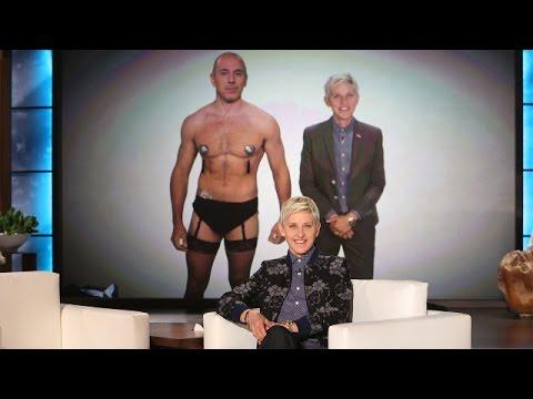 Ellen Pranks Matt Lauer at The Emmys