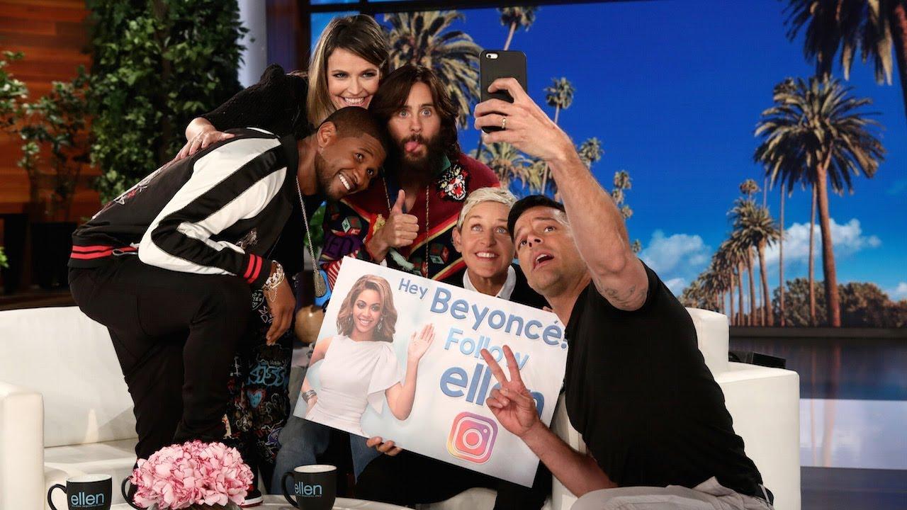 Ellen Recruits Her Friends for Another Star-Studded Selfie
