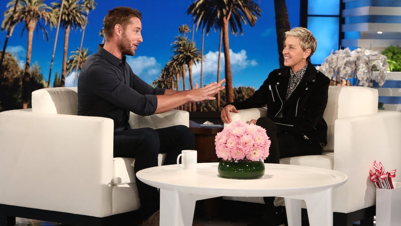 Ellen Recruits tWitch as Justin Hartley's Wedding Choreographer