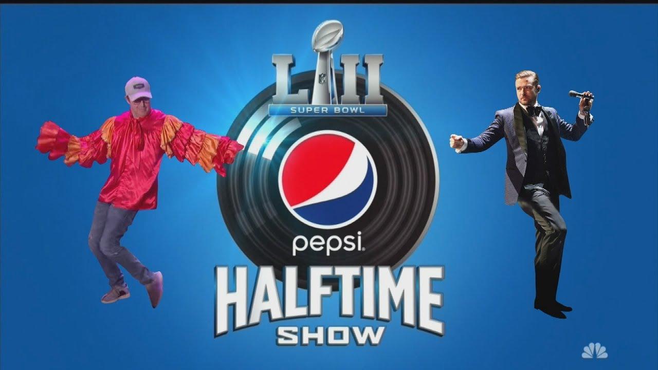 Ellen Teases Justin Timberlake's Super Bowl Halftime Show