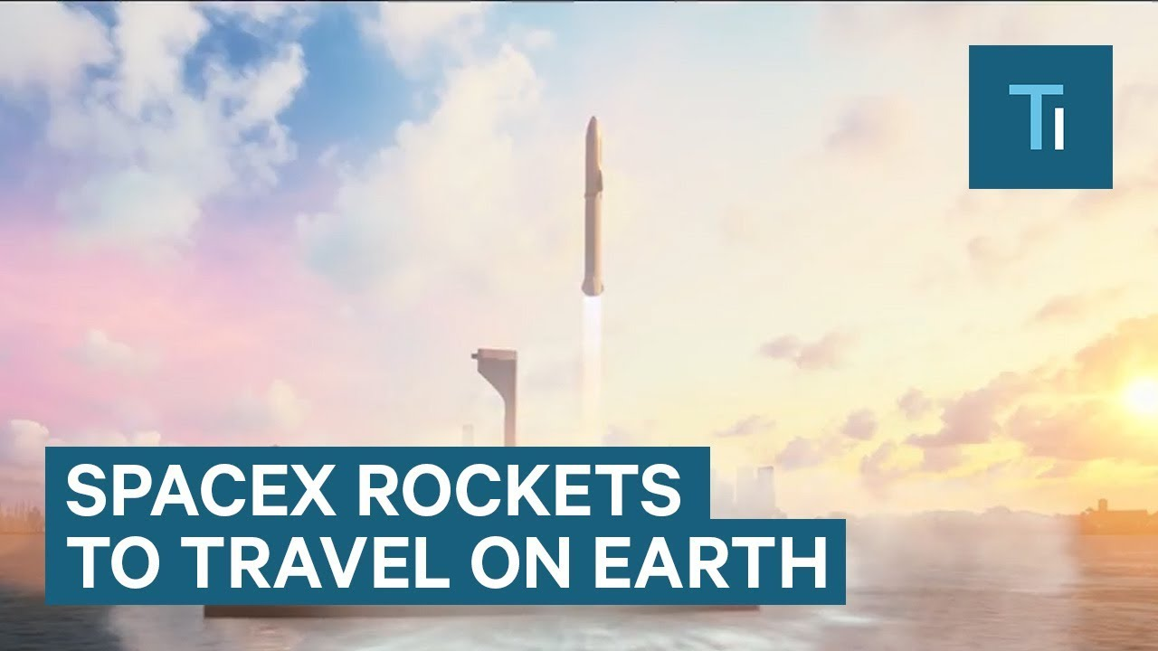 Elon Musk wants to use SpaceX rockets to travel anywhere on Earth