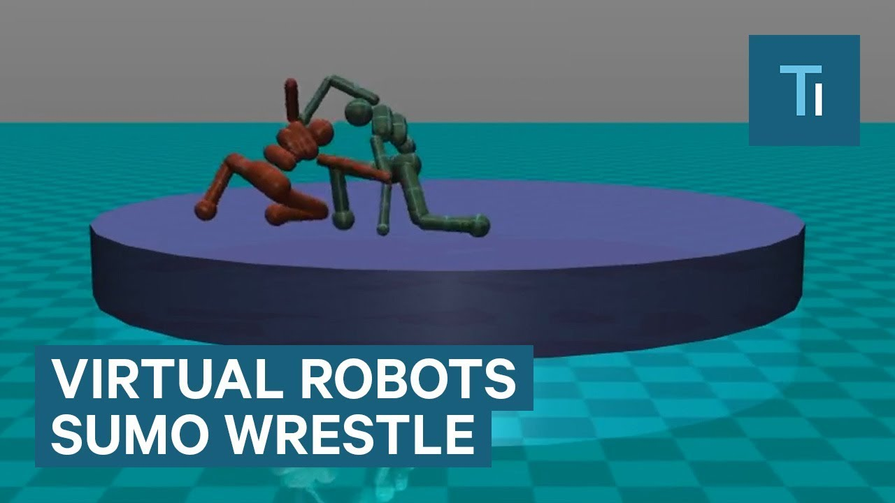 Elon Musk's AI company created virtual robots that can sumo wrestle and play soccer
