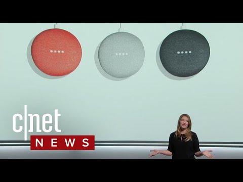 Google unveils Home Mini
