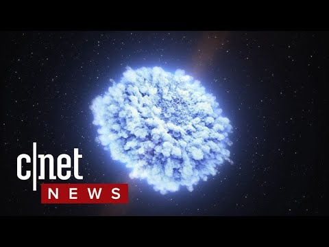 Gravitational Waves from exploding kilonova detected for the first time (CNET News)
