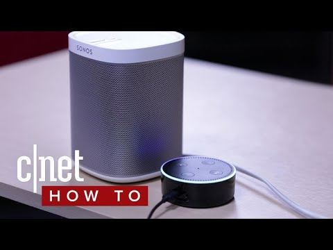 How to set up Alexa voice control for Sonos speakers