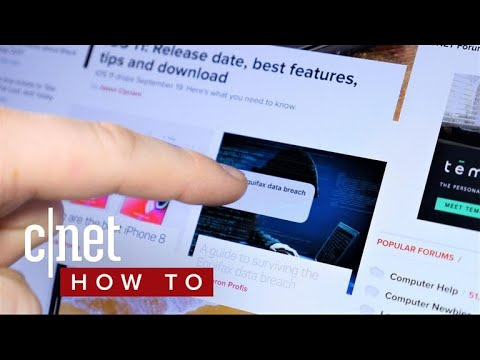 How to use drag-and-drop on the iPad (CNET How To)