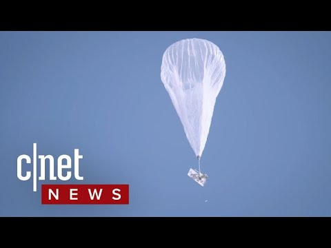Internet balloons headed to Puerto Rico (CNET News)