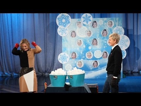 Kristen Bell and Ellen's Snowball Fight