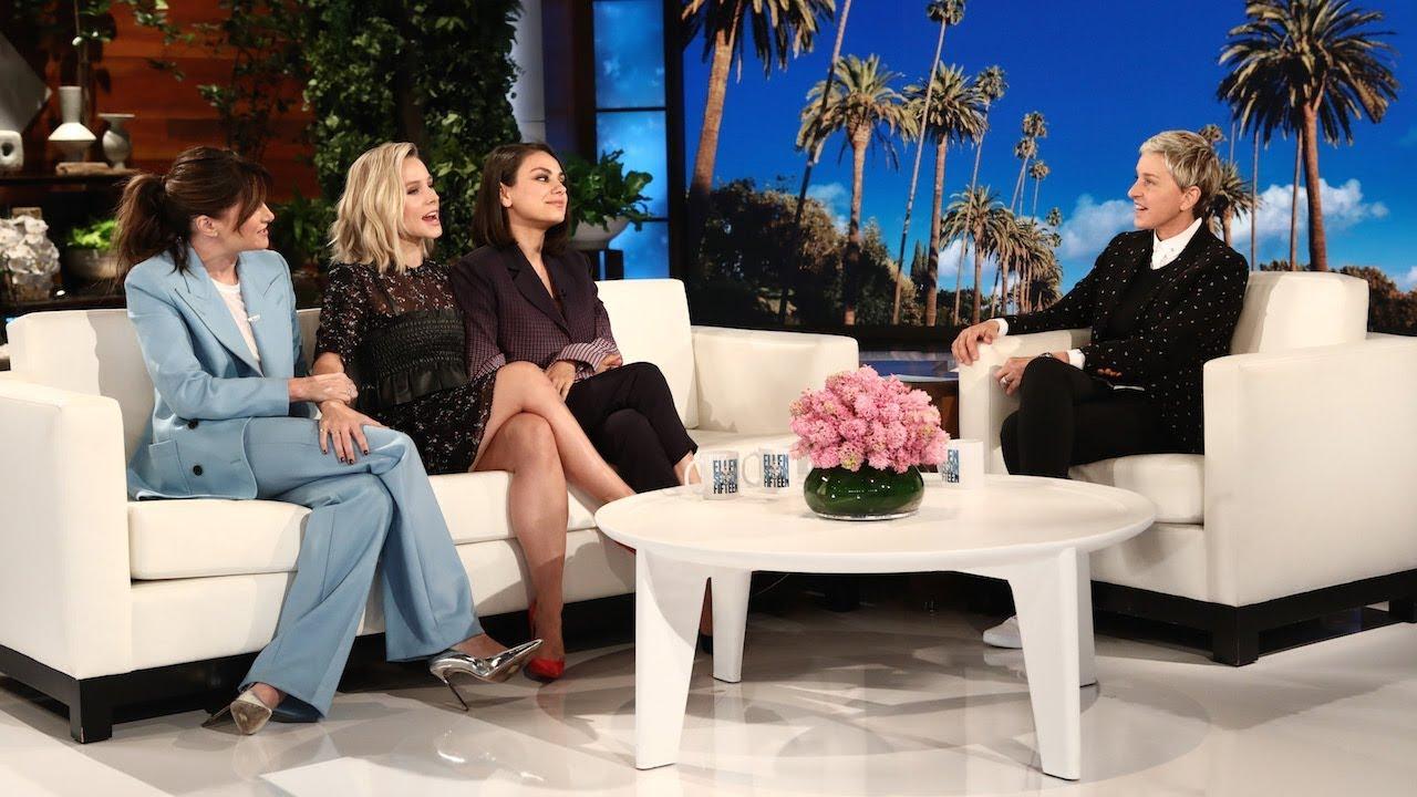 Kristen Bell Reveals Her Breast Kept Secret from 'A Bad Moms Christmas'