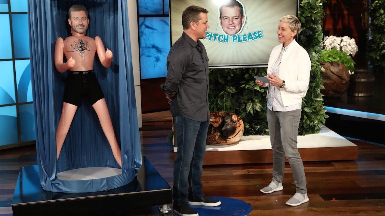Matt Damon Plays 'Pitch, Please' for Charity