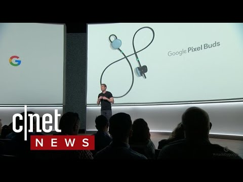 Pixel Buds translate languages instantly (CNET News)