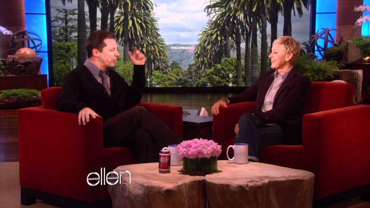 Sean Hayes Goofs Off with Ellen!