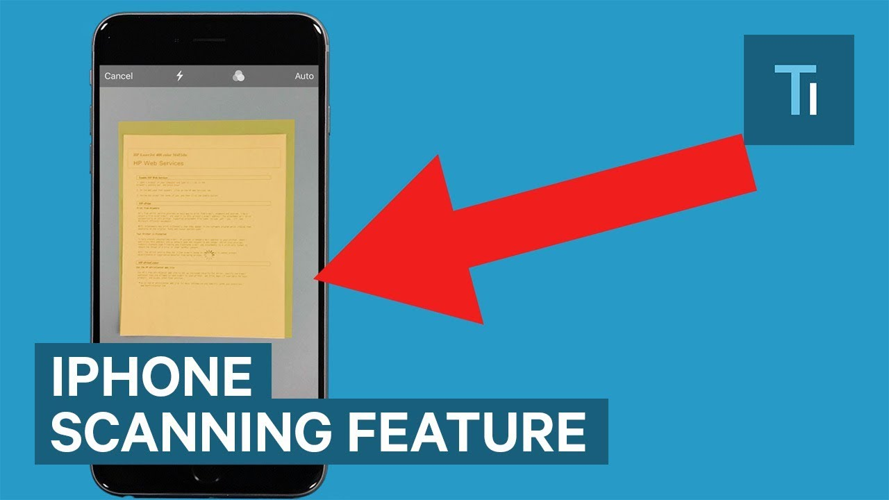 The iPhone now has a built-in document scanner