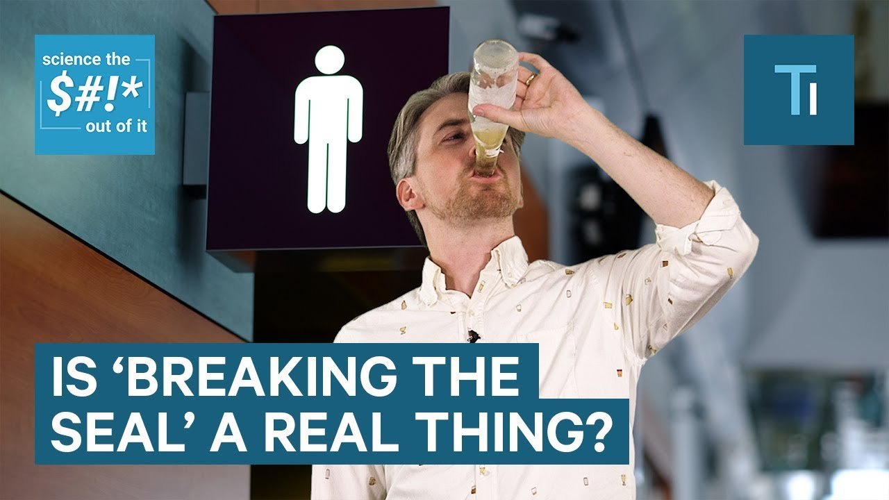 """The science behind """"breaking the seal"""" — why alcohol makes you pee more often"""