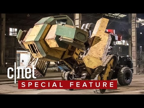 There's a combat league for giant fighting robots