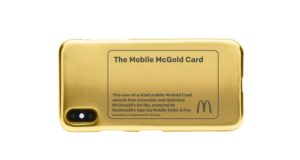 McDonald's McGold Card contest giving away free food for life