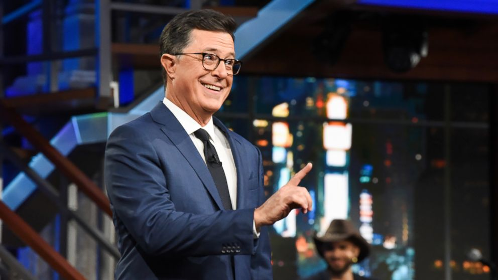 Colbert: Trump's proposed Space Force inspired by Buzz Lightyear
