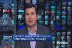 "How pro sports teams are investing in ""off-the-field"" entertainment"