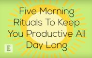 5 Morning Rituals to Keep You Productive All Day Long