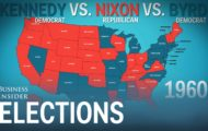How the states voted in every presidential election
