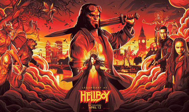 Hellboy TRAILER: NYCC footage description revealed 'Funny, darker' | Films | Entertainment