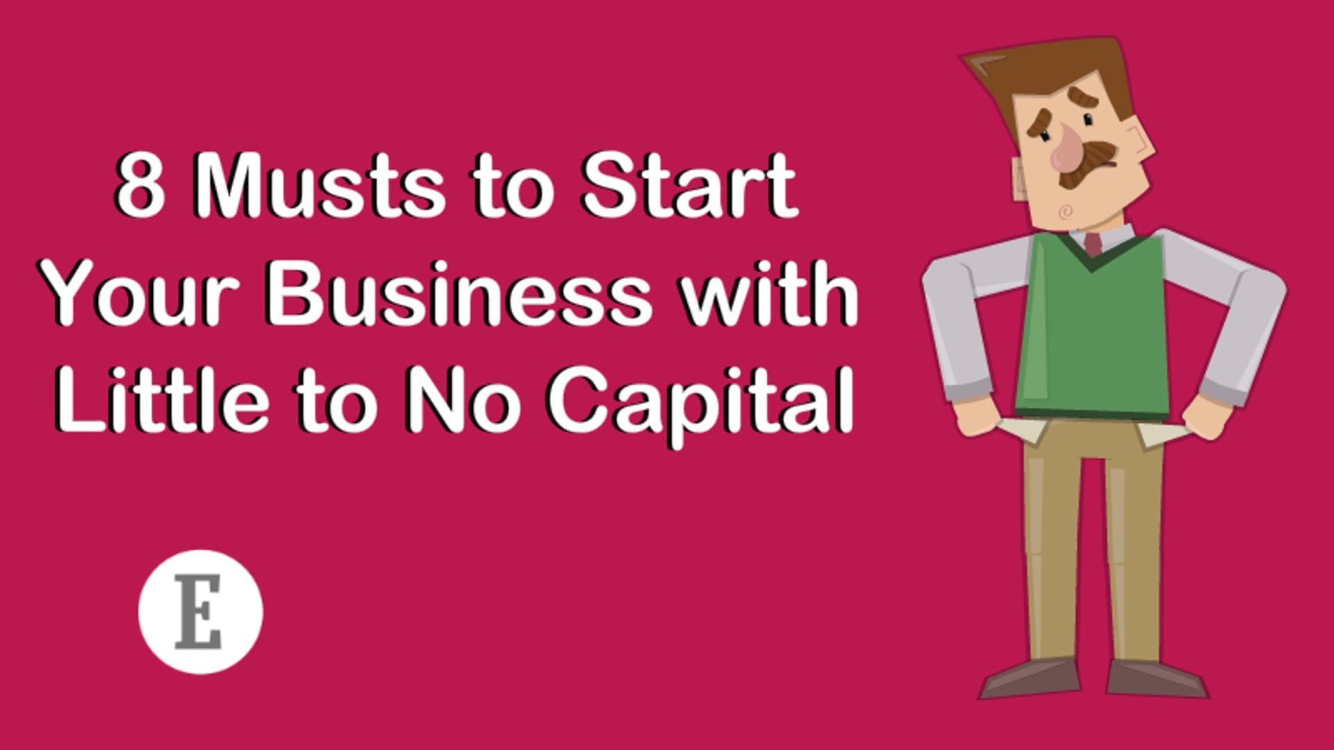 Great Idea but Little Capital? Don't Let That Hold You Back.