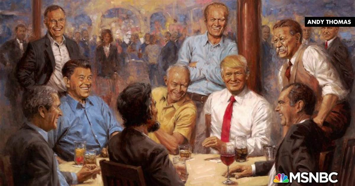 Donald Trump has added some interesting art to the White House