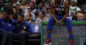 Joel Embiid has funny quote about alleged rivalry between 76ers, Celtics
