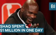 Shaq Spent $1 Million In One Day