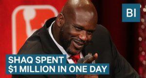 Shaq Spent $1 Million In One Day