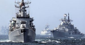 South China Sea: Senior Chinese officer calls for ramming US ships