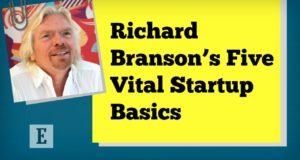 Richard Branson's 5 Vital Startup Basics