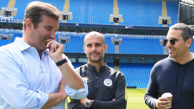 Pep Guardiola: Man City boss says Blues chiefs have told him club will not be banned