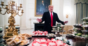 White House Welcomes College Football Champions With Fast-Food Buffet