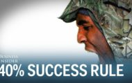 What this Navy SEAL's '40% rule' can teach you about success