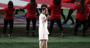 Gladys Knight Sings Flawless National Anthem at Super Bowl