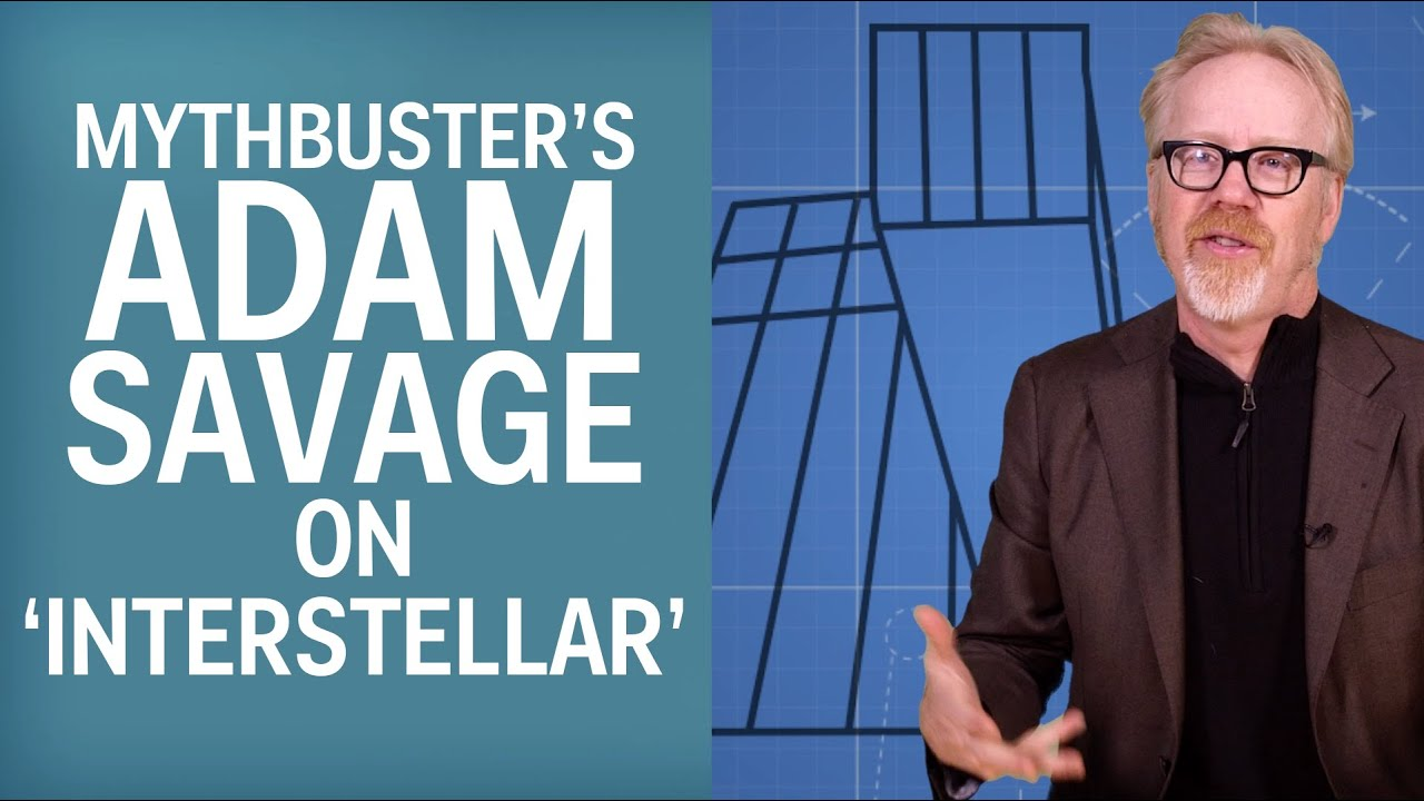'MythBusters' Adam Savage Explains Why Interstellar's TARS Is The Perfect Robot