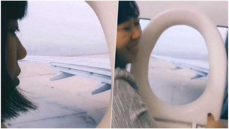 Fake Plane Challenge' Goes Viral on TikTok in China During Spring Festival (Watch Funny Vi…