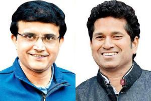 Sachin Tendulkar-Sourav Ganguly Twitter exchange over India-Pakistan match is interesting