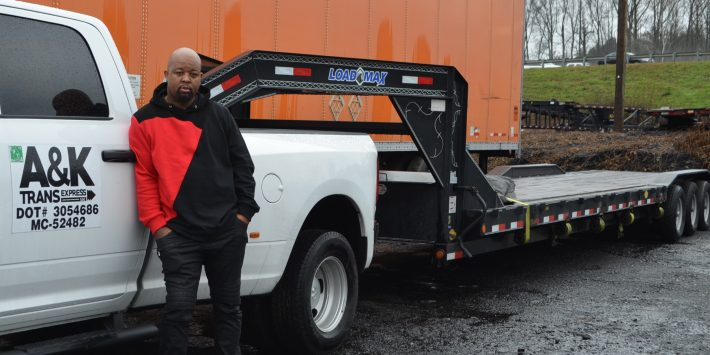 Business owner loans truck to homeless woman during long stretch of rain
