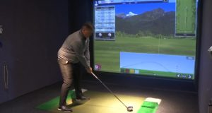 As Billings golfers itch to hit the greens, business at indoor golf simulator a hit