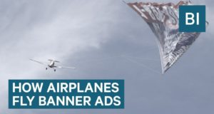 How Airplanes Fy Those Giant Banner Ads — It's More Dangerous Than You Think