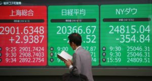 Asian Markets Wobble as US, China Trade Jibes Over Trade   Business News