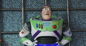 Tim Allen Jokes About What Buzz Lightyear's Hair Looks Like